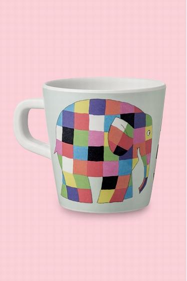 Adorable mug en mélanine décoré par les illustrations de la