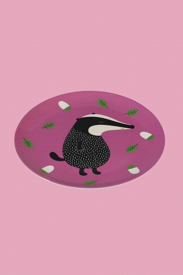 Delightful melamine plate ideal for picnics and garden