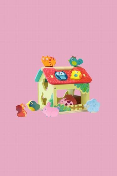 Le jouet d'éveil La Ferme des formes est un superbe jouet en