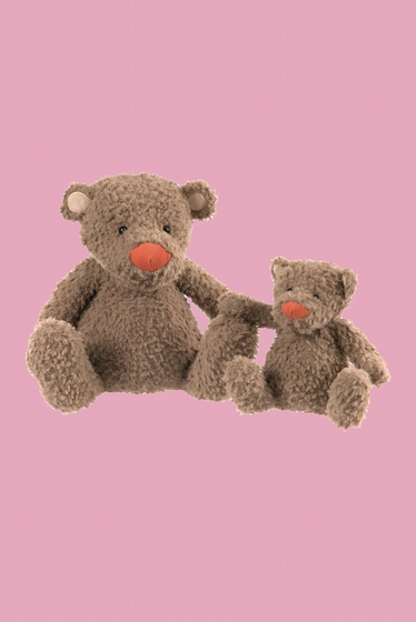 Marcel is a little bear to cuddle! It is ultra soft and it