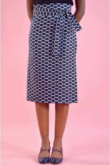 jupe portefeuille pour une silhouette parfaite. peut se