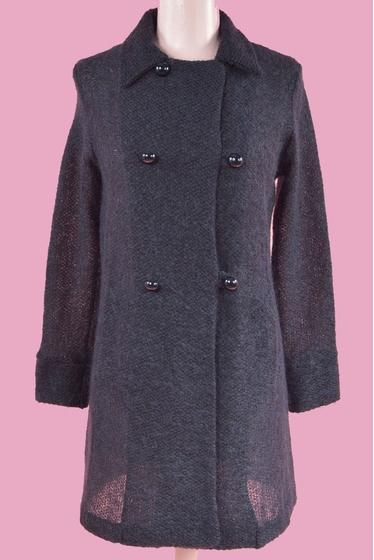 Manteau tout doux grâce au mohair, léger, chaud et