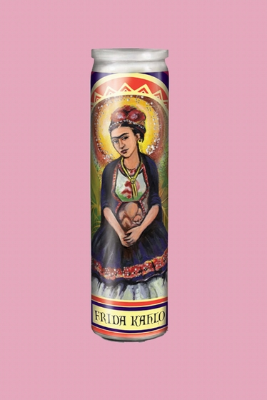Show your devotion to Frida Kahlo, the saint of thwarted