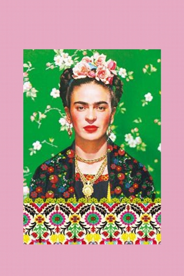 Nice Frida Kahlo Notebook.<br> Draw, write, make your