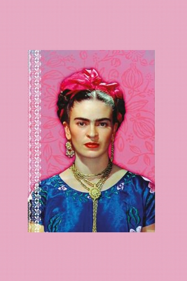 Nice Small Frida Kahlo Notebook.<br> Draw, write, make your