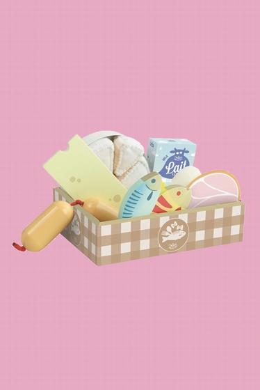 - <b>Le set de produits frais</b> contient : une jolie