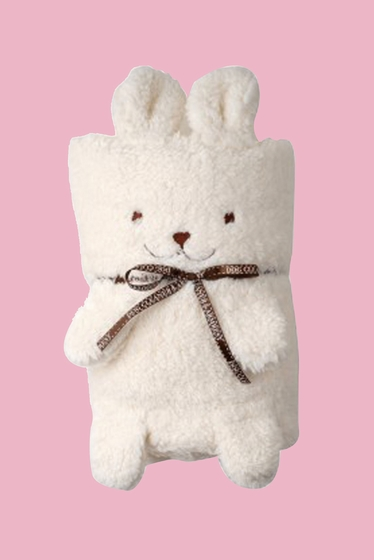Need a sweet cuddly night and all? With this rabbit blanket