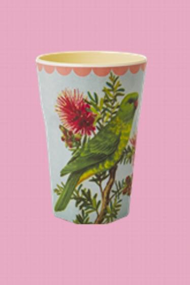 Vase en melamine - hauteur 13cm - diametre 9cm