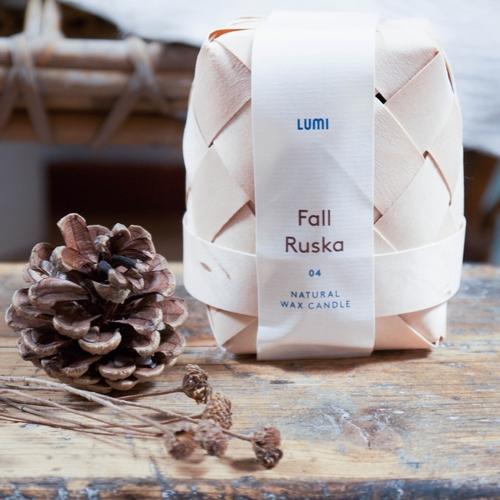 RUSKA-FALL Bougies finlandaises  L'évocation des premières