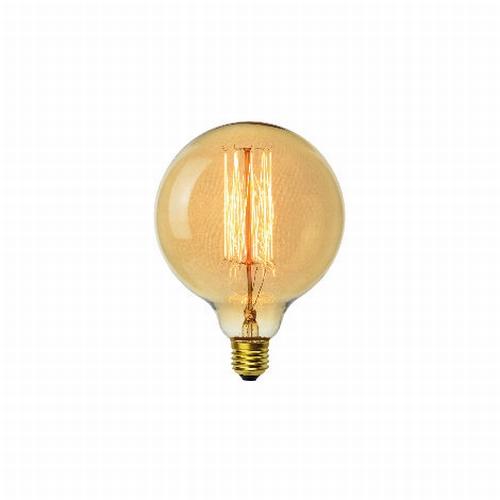 On adore le style rétro de cette ampoule sphérique à