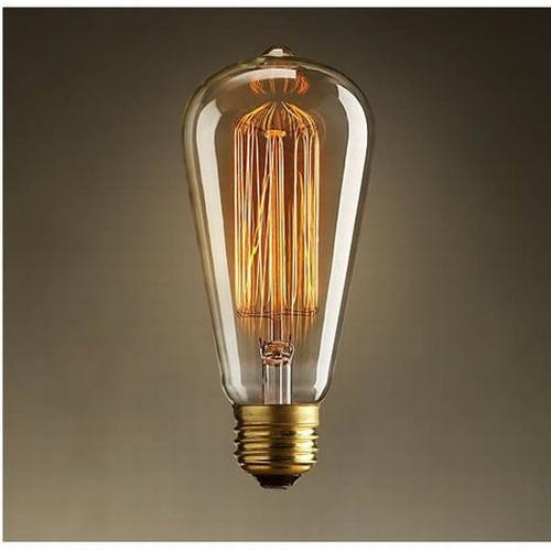 On adore le style rétro de cette ampoule à incandescence