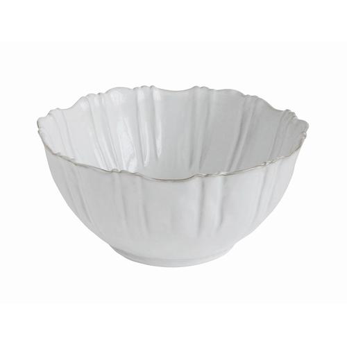 Vous tomberez sous le charme de ce bol blanc en terracotta.