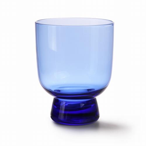 Verre bleu cobalt L. Ce verre de par sa couleur si