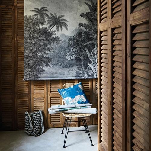 Magnifique décoration murale au style jungle au format XXL