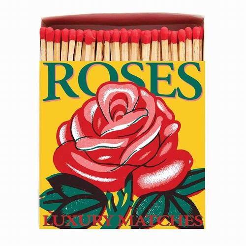 Boîte d'allumettes Red Rose. Cette boîte d'allumettes de