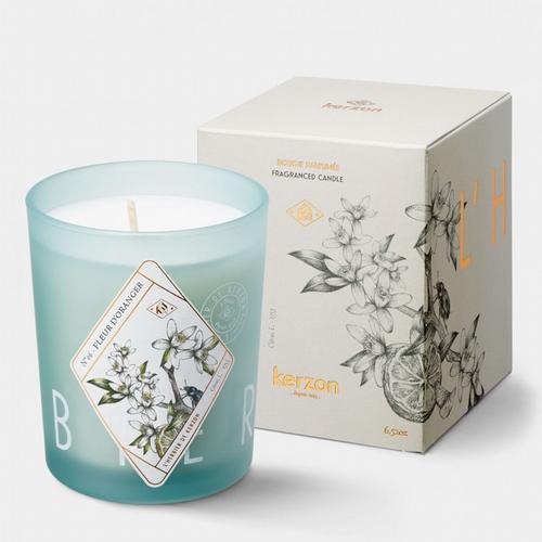 L'Herbier de Kerzon Bougie Fleur d'Oranger Inspirée de la