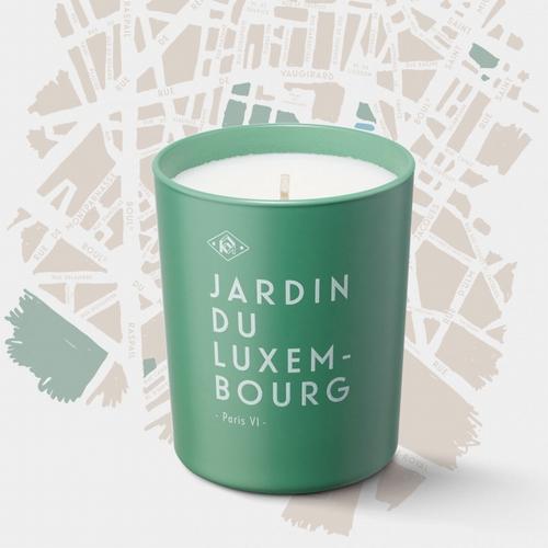Flâneries à Paris Bougie Jardin du Luxembourg  Souvenir