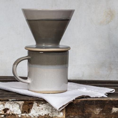 Joli filtre en céramique Ebele couleur lin de la maison