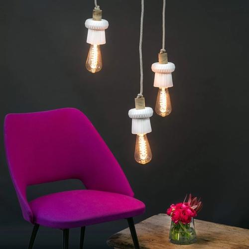 Georgette wood S4. Sandrine Tortikian conçoit des luminaires