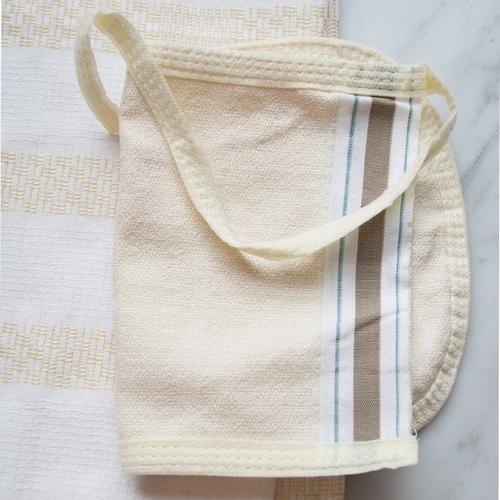 Joli gant à frotter, en viscose Gant de gommage authentique