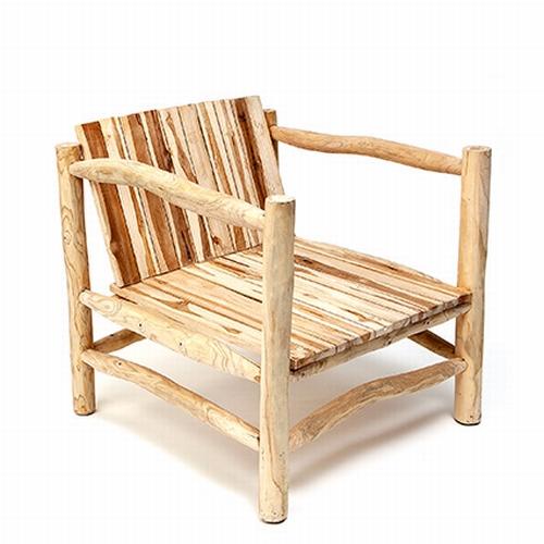 Ce joli fauteuil réalisé de manière éco-responsable en