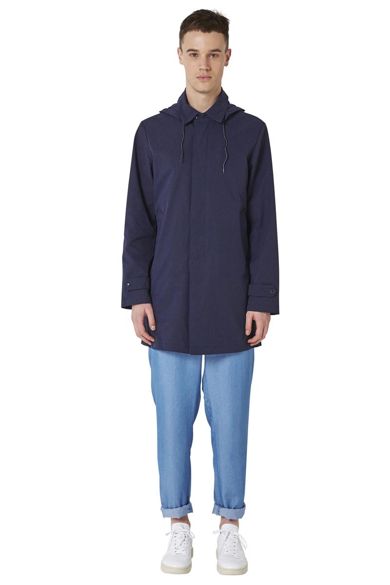 - Jacket type MAC - Water-repellant and waterproof -