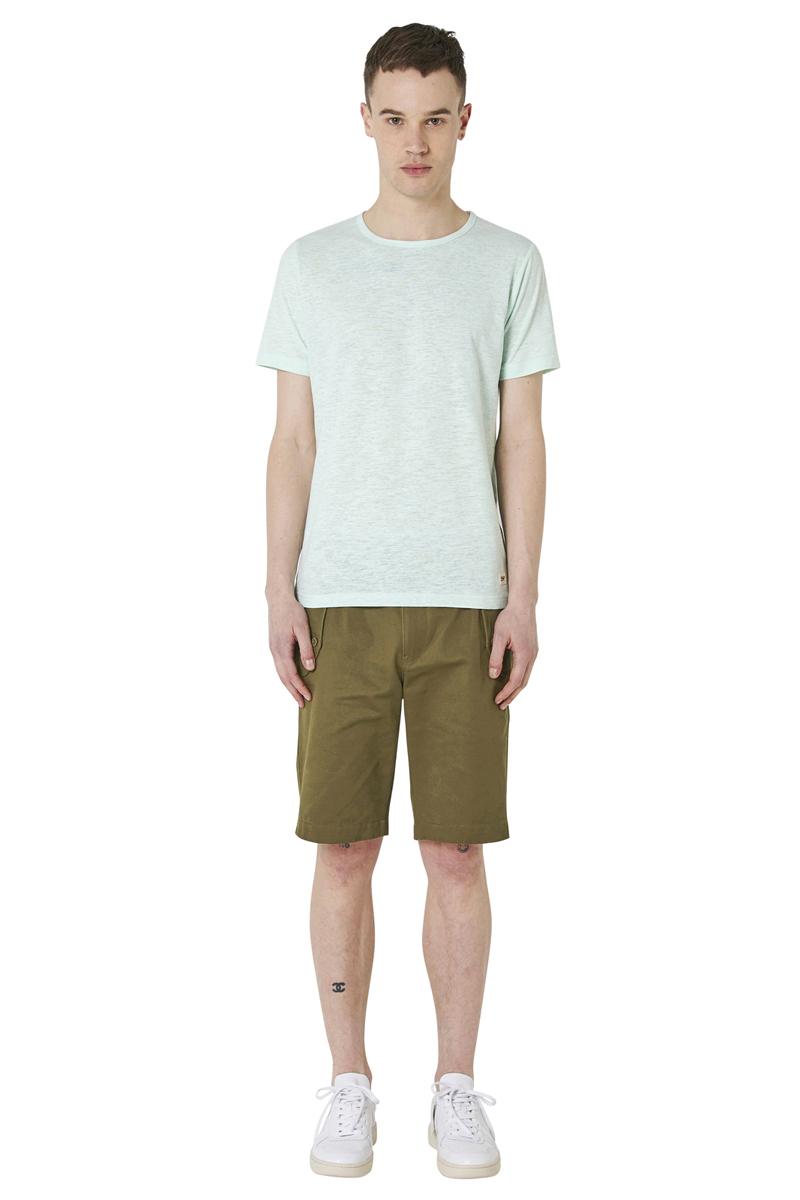 - Melange T-Shirt - Round collar - Regular fit