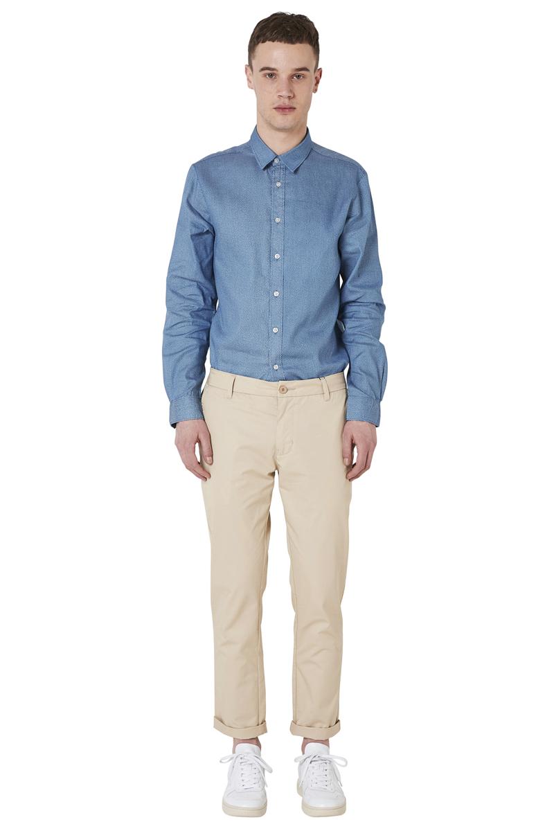 - Slim chino pant - Slim fit - 4 pockets (2 Italian side