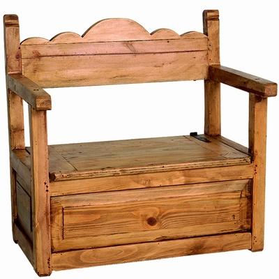 banc ranchero. Black Bedroom Furniture Sets. Home Design Ideas