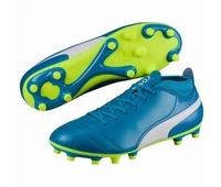 Nouvelles chaussures rugby Puma One 17.4 FG pour enfant à
