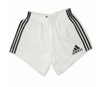 Nouveau short de rugby Adidas en coloris blanc avec une