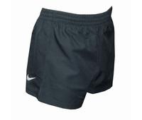 Nouveau short de rugby Nike en couleur noir. 100 % polyester