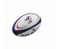 Mini ballon de rugby Gilbert du XV de France.