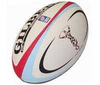 Ballon de rugby Gilbert replica de l' équipe londonienne des