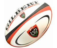 Ballon de rugby replica Gilbert officiel du Rc Toulon.