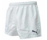 Nouveau short de rugby Puma blanc speed. 100% polyester.