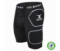 Nouveau cuissard de protection rugby de la marque Gilbert.
