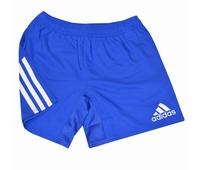 Nouveau short de rugby Adidas à bandes, avec une coupe plus