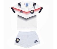Nouveau kit rugby Adidas pour enfant composé du short et du