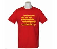 Nouveau tee shirt rugby de la marque Canterbury, modèle à