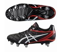Nouvelles chaussures rugby Asics à 8 crampons modèle Scrum