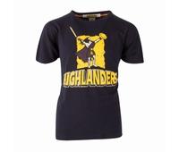 Nouveau tee shirt rugby pour enfant des Highlanders d'Otago,