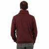 Sweat en jersey coton suédé. Encolure arrondie avec large