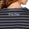 T-shirt oversize manches longues en jersey coton slubbé.