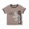 T-shirt manches courtes en jersey coton. Ouverture