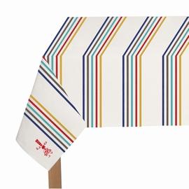En décoration ou en utilisation quotidienne, la nappe rayée