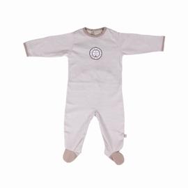 Pyjamas en jersey coton. pressions au dos et à l'entrejambe.
