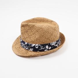 Chapeau en paille, taille 59cm. <br>Convient à toutes les