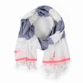 Foulard en popeline coton, polyester ou en viscose.
