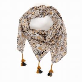 Foulard en popeline coton, existe en différentes dimensions